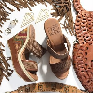 Lucky Brand Candy Wedges 8.5